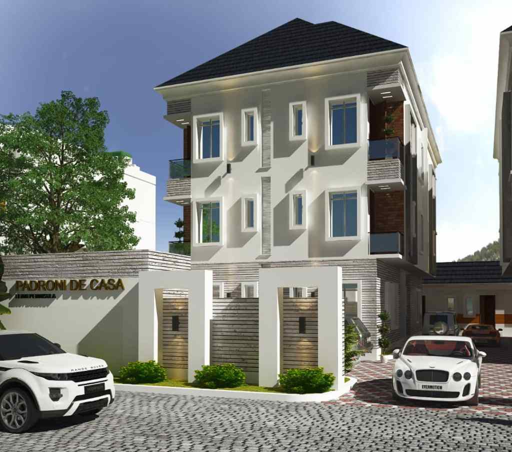 Exterior view of Padroni Di Casa with 2 cars