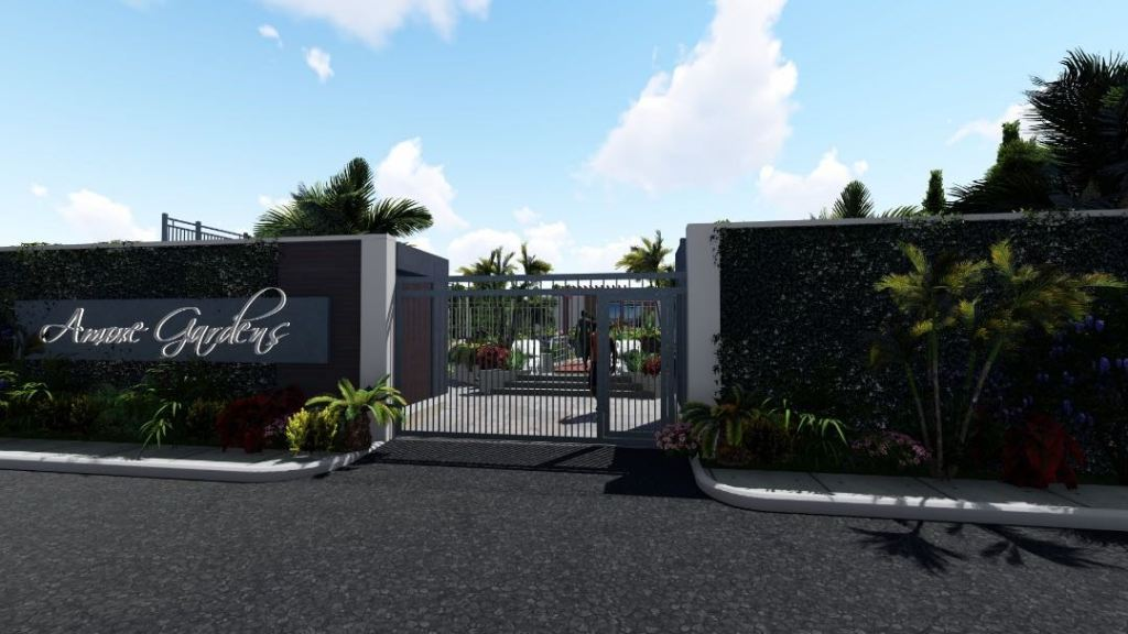 CGI rendering of The Amore Multiplex gate