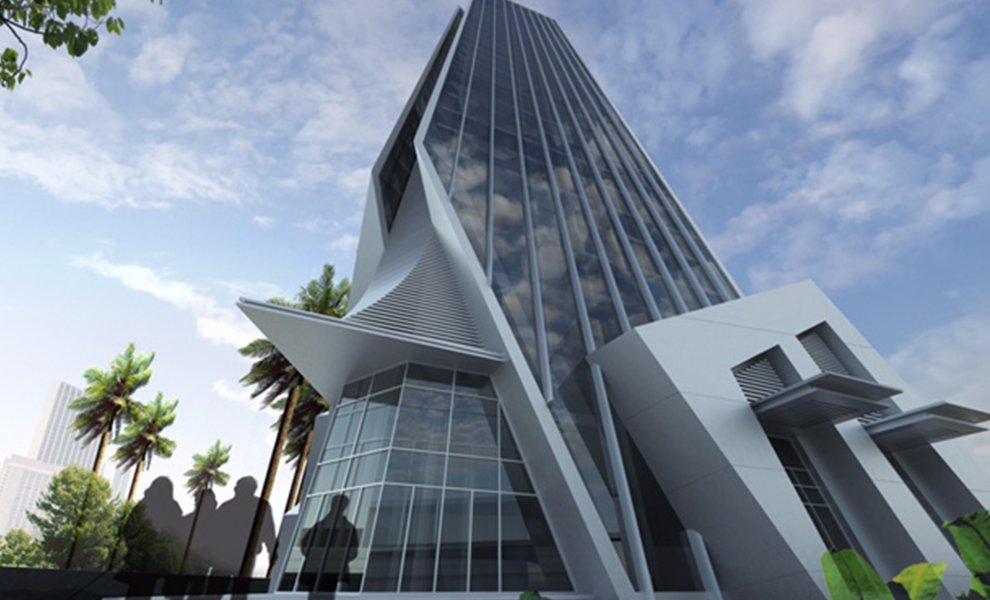 Updated - Development: The Corporate Tower, Eko Atlantic City, Lagos