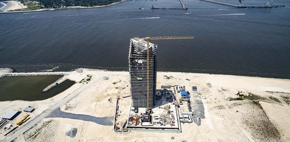 Afren Tower, Eko Atlantic. Image Source: lambertelectromec.com