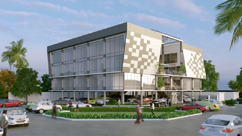 Trocadero Mall, The Rock Drive, Lekki Phase 1 - Lagos. Image Source: Trocadero Properties and Investments Limited