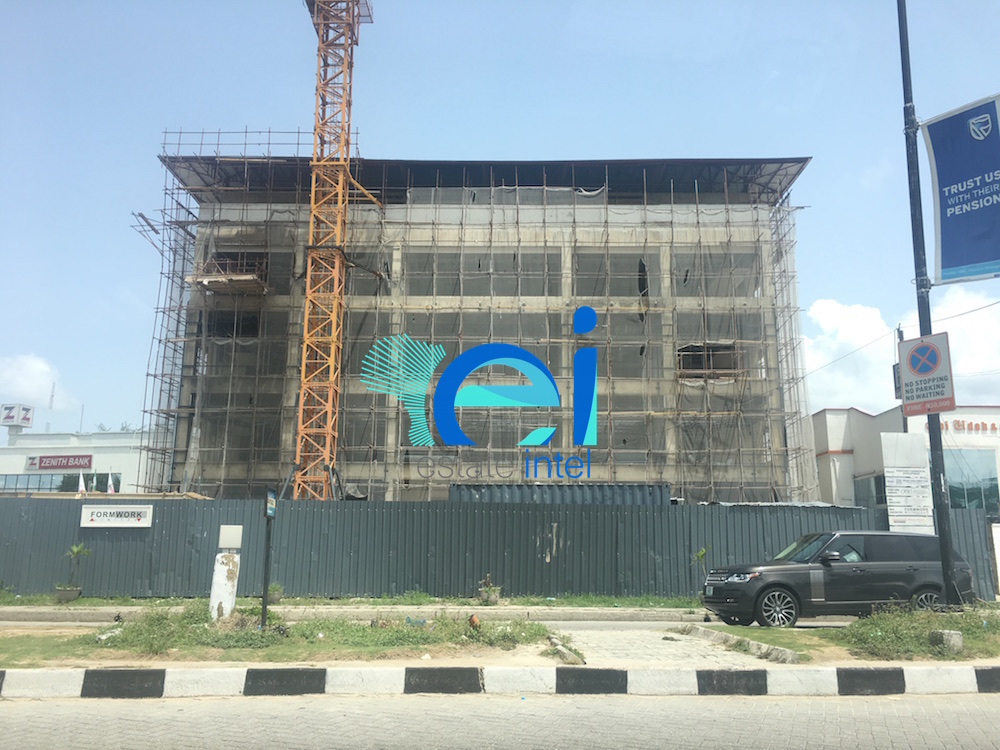April 2017. Updated: Development: Commercial Building, Lekki Phase 1 - Lagos