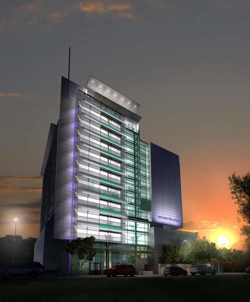 Development: One Zero Five Place, Chief Yesuf Abiodun Road in Oniru.