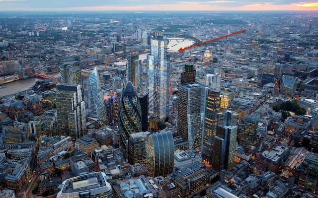 City of London's Tallest Tower (22 Bishopsgate) gets the Green Light. Image Source: Londonist