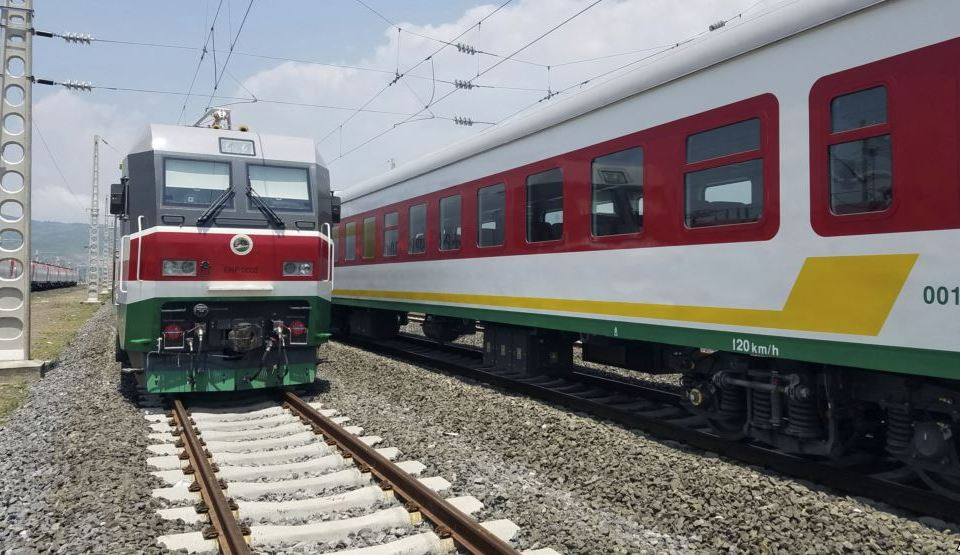 Africa's First Modern Railway from Ethiopia to Djibouti. Image Source: VOA News