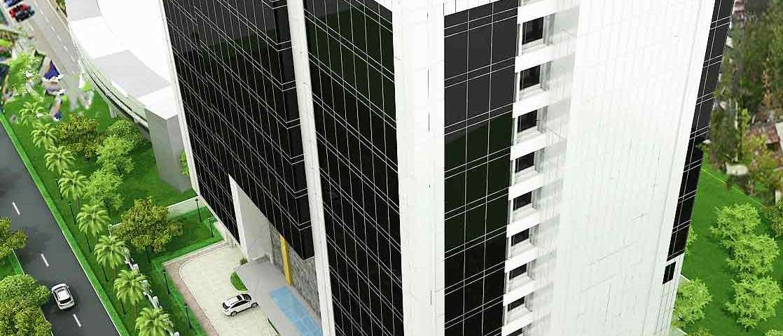 Development: NDIC Head Office, Glover Road, Ikoyi - Lagos. Image Source: Interstate Architects.