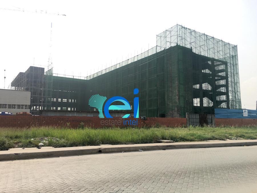 March 2017. Development: Dr. Charles Hammond's Clinic, Lekki Phase 1, Lagos
