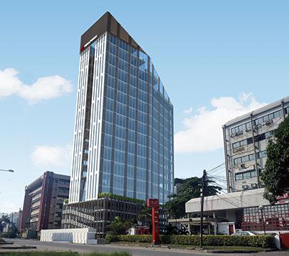 Development: Greystone Tower, Victoria Island - Lagos. Image Source: Majoroh.
