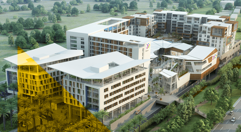 New development the exchange accra ghana for Site location hotel