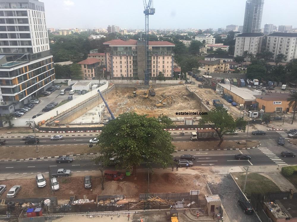 February 2018. Development: Famfa Oil Tower, Corner of Alfred Rewane (Kingsway) Road and Olawole Dawodu, Ikoyi - Lagos