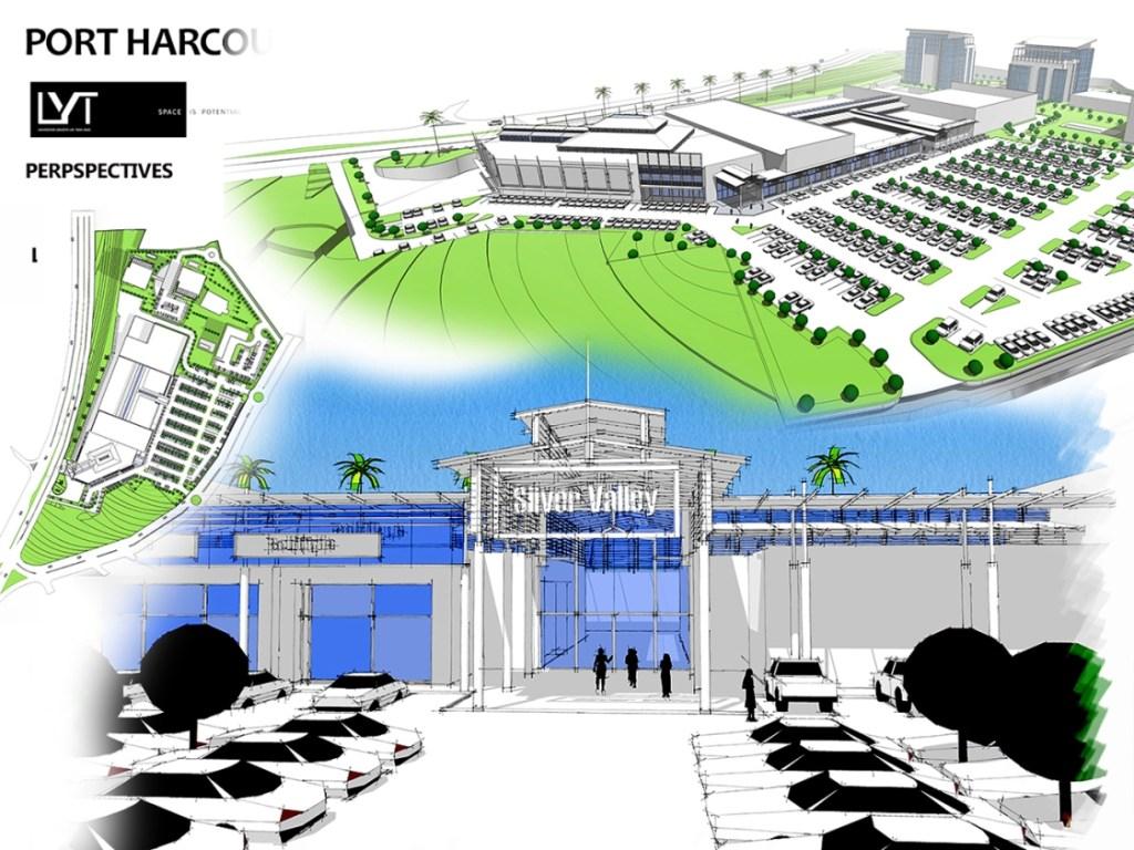 Silver Valley Mall, Port Harcourt - Nigeria. Image Source: Skyscraper City