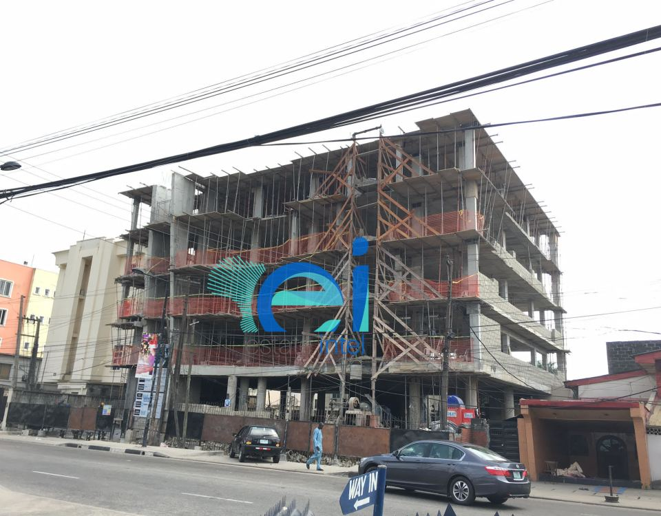 December 2016. Development: 5 Floor Office Development, Awolowo Road, Ikoyi