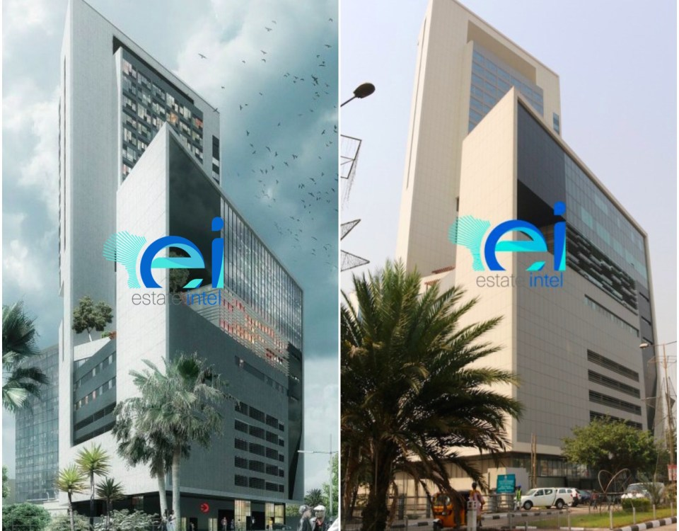 January 2017. Development: Eko Tower II, Victoria Island - Lagos.