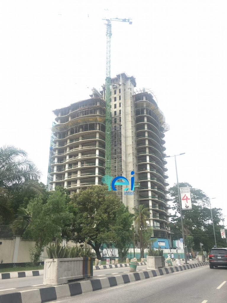 August 2017. Updated: Development: No. 4 Bourdillon, Ikoyi - Lagos