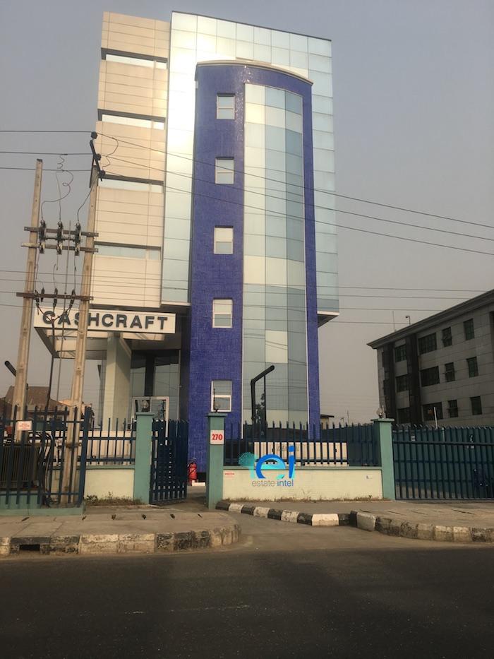 January 2018. Development: Cash Craft Building, Murtala Mohammed Way, Yaba - Lagos