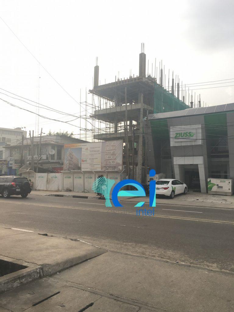 January 2017. Development: Ogun House, Awolowo Road, Ikoyi - Lagos