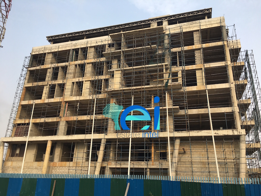 February 2017. Development: AIM Group Broadcasting HQ, Lekki Phase 1 - Lagos