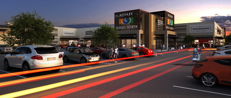 Great North Mall, Lusaka - Zambia. Novare