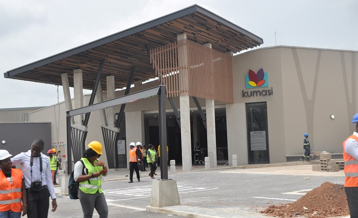 Development: Kumasi City Mall, Kumasi - Ghana. Image Source: citifmonline.com
