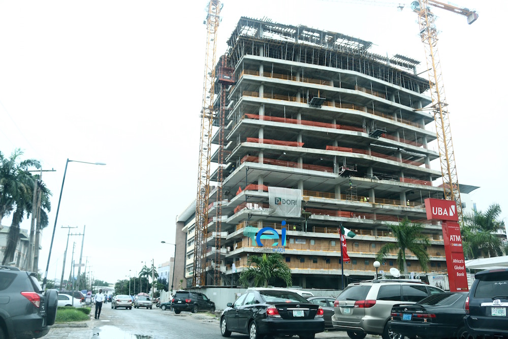 July 2017. Development: Greystone Tower, Idowu Taylor Street, Victoria Island - Lagos. Developed by Platform Petroleum.