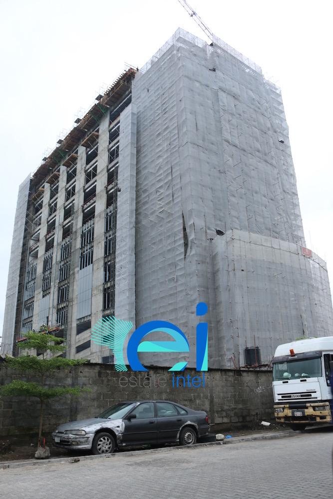 July 2017. Diamond Bank Office Development, Victoria Island Annex (Oniru), Lagos - Nigeria