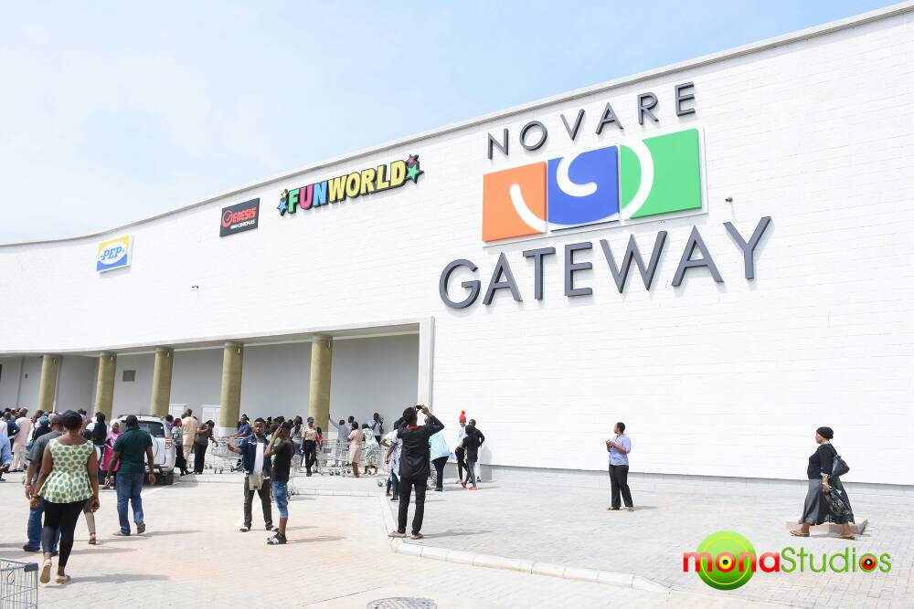 November 2017. Gateway Mall, Lugbe - Abuja. Image Source: Novare Equity Partners