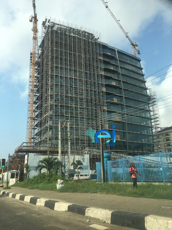 Kingsway Tower, Alfred Rewane (Kingsway) Road, Ikoyi, Lagos. August 2017