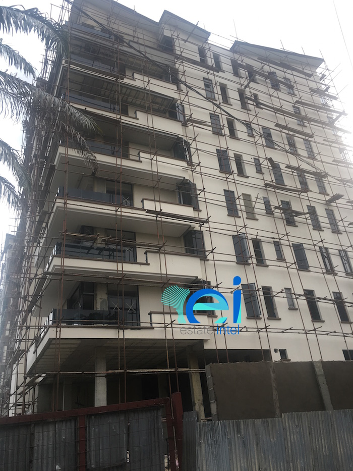 August 2017. Development: Oakwood Residences, Cooper/Femi Okunnu Road, Ikoyi - Lagos.