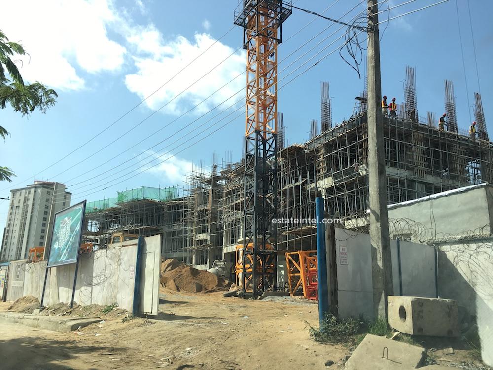 April 2018. Development: Labana Luxury Apartments, Oba Elegushi Road, Ikoyi, Lagos