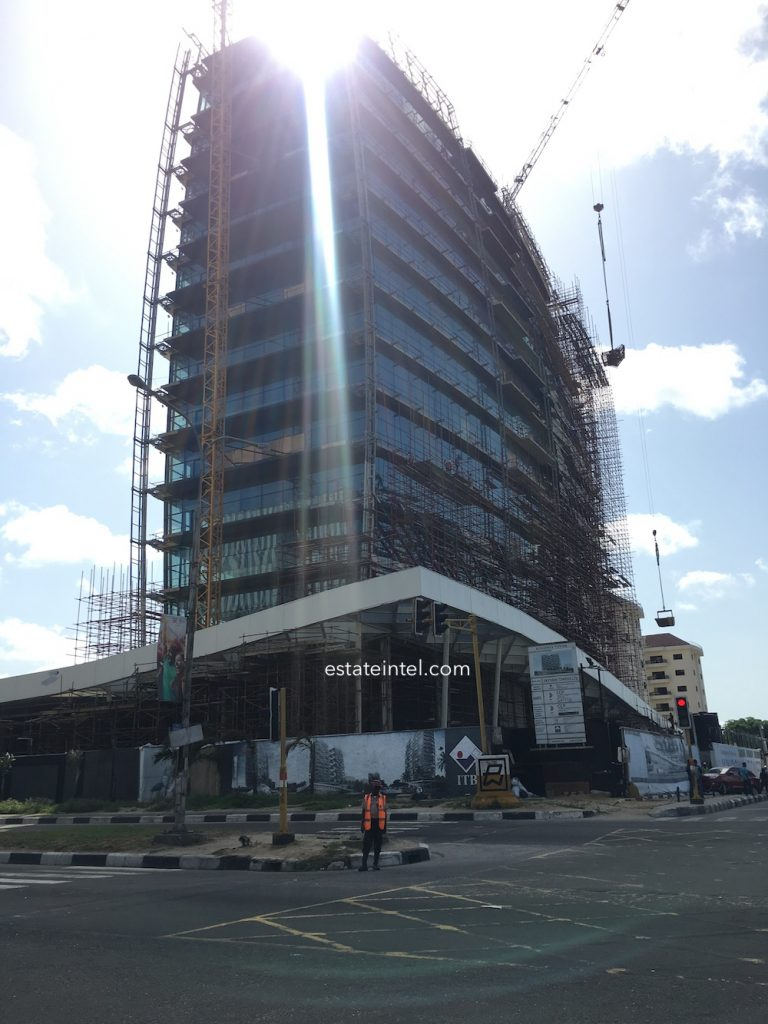April 2018. Kingsway Tower, Alfred Rewane (Kingsway) Road, Ikoyi, Lagos.