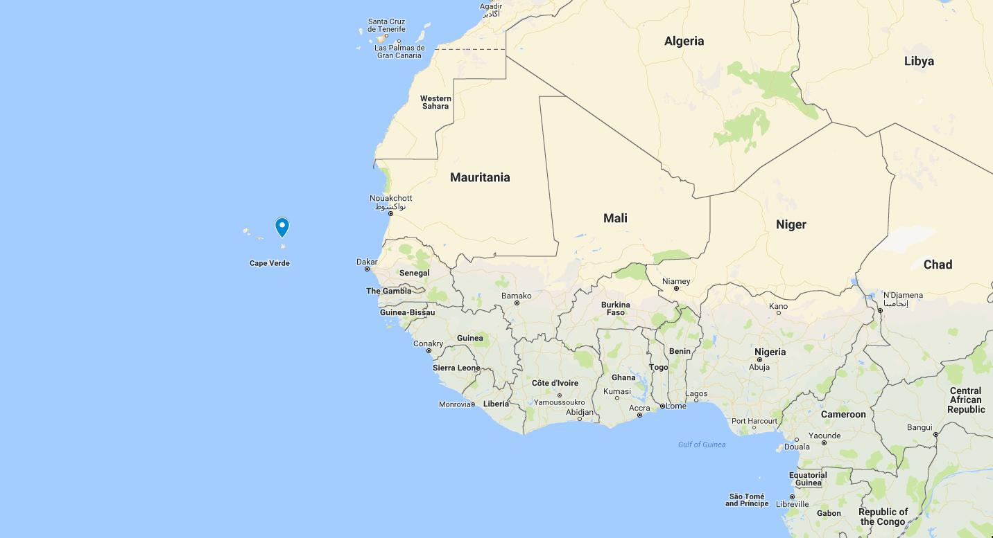 Cape Verde Map – ei – estate intel