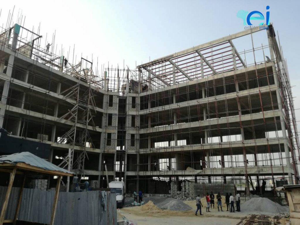 December 2017. Development: Mixed-Use Project, Admiralty Way, Lekki Phase 1 - Lagos