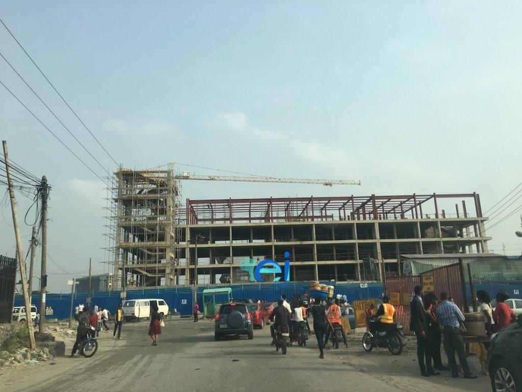 February 2018. Development: Admiralty Evercare Hospital (Formerly Charles Hammond Clinic), Lekki Phase 1, Lagos