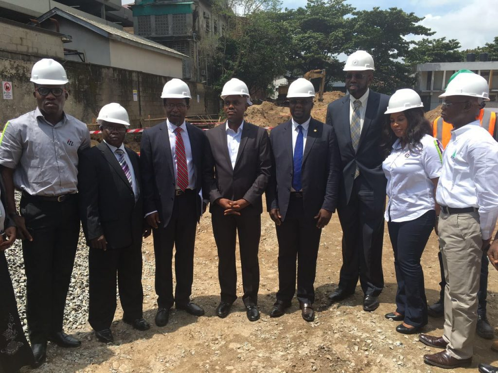 Ground Breaking at the Campbell Multi-Storey Car Park and Event Centre, Lagos Island - Lagos. Imagr Source: Construction Kaiser