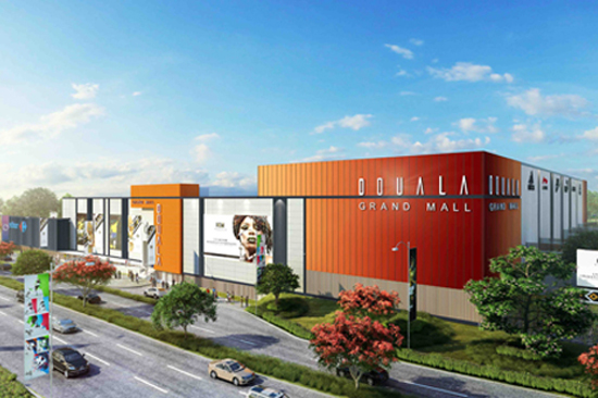 Construction Begins at Douala Grand Mall in Cameroon. Image Source: Profica