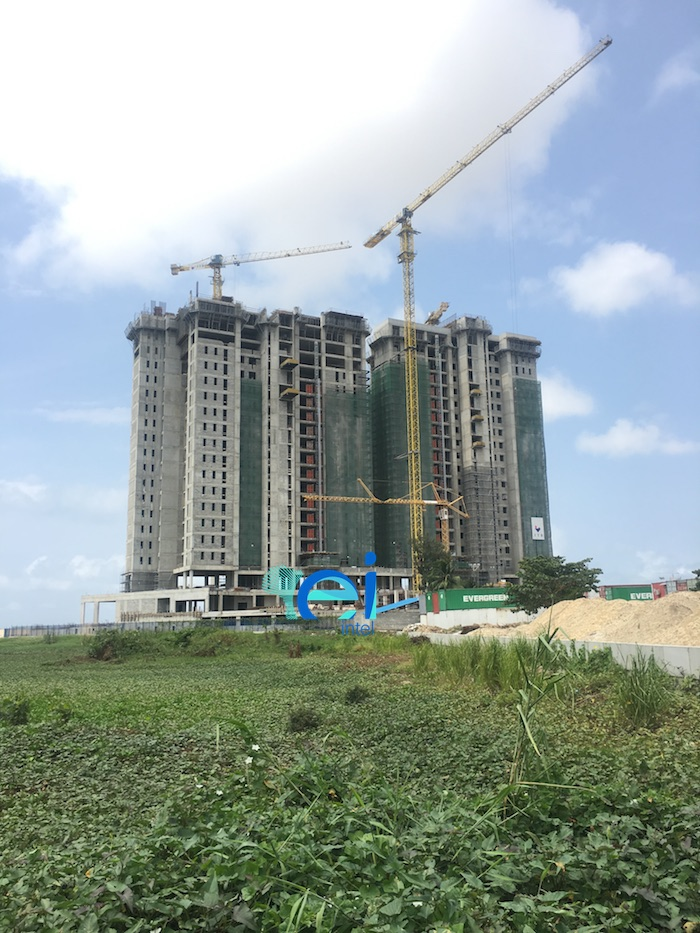 September 2017. Development: KBR Residences/Total Residence Development, Corner of Adetokunbo Ademola Street and Ahmadu Bello Way, Victoria Island, Lagos - Nigeria