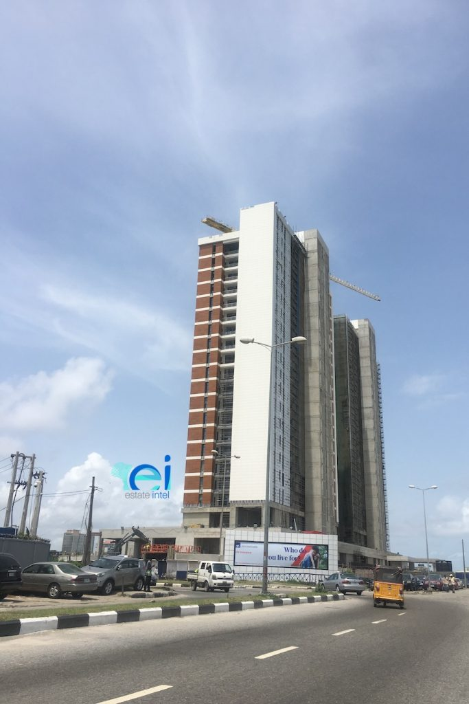 April 2018. Development: KBR Residences/Total Residence Development, Corner of Adetokunbo Ademola Street and Ahmadu Bello Way, Victoria Island, Lagos - Nigeria
