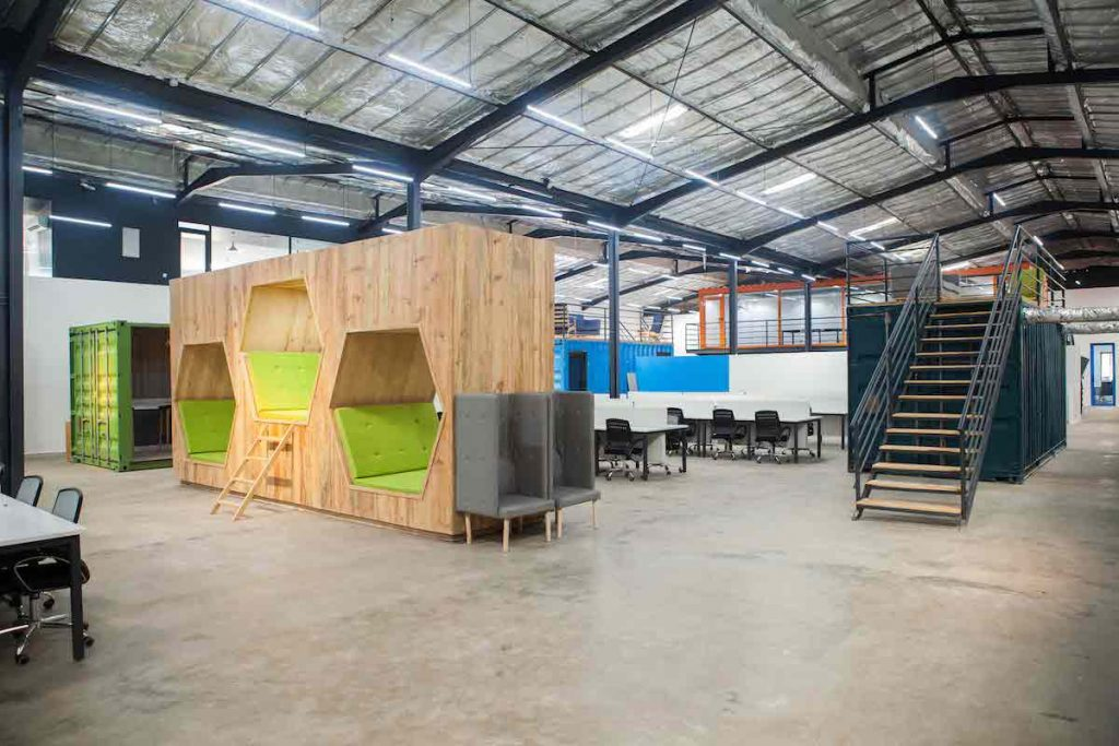 Spacefinish take estate intel on a tour of VGG's Innovation Hub - Vibranium Valley
