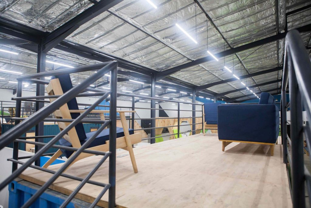 Spacefinish take estate intel on a tour of VGG's Innovation Hub - Vibranium Valley