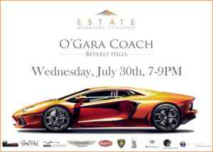 """Estate Managers Coalition Event """"High End Auto"""""""