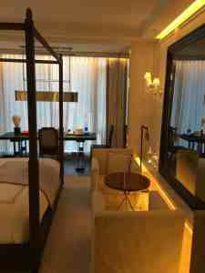 Baccarat hotel room