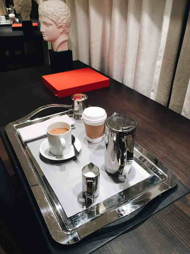 Baccarat hotel morning service luxury