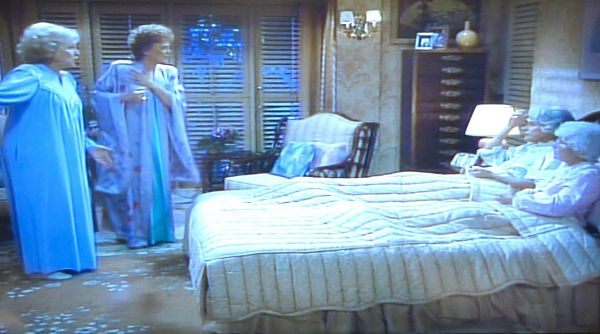 Blanches Lavender Silk Robe from The Golden Girls