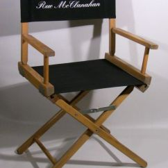 Personalized Makeup Artist Chair Cushions Now 80 Director S Back And Seat Cover From Movie With Shannen Doherty Sold