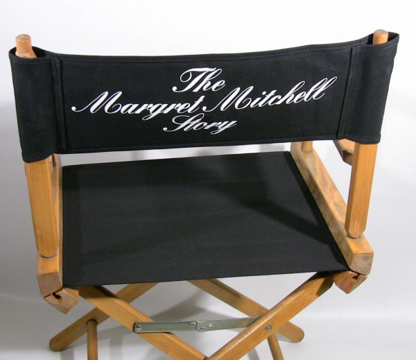 personalized makeup chair bristol office now 80 director s back and seat cover from movie with shannen doherty sold