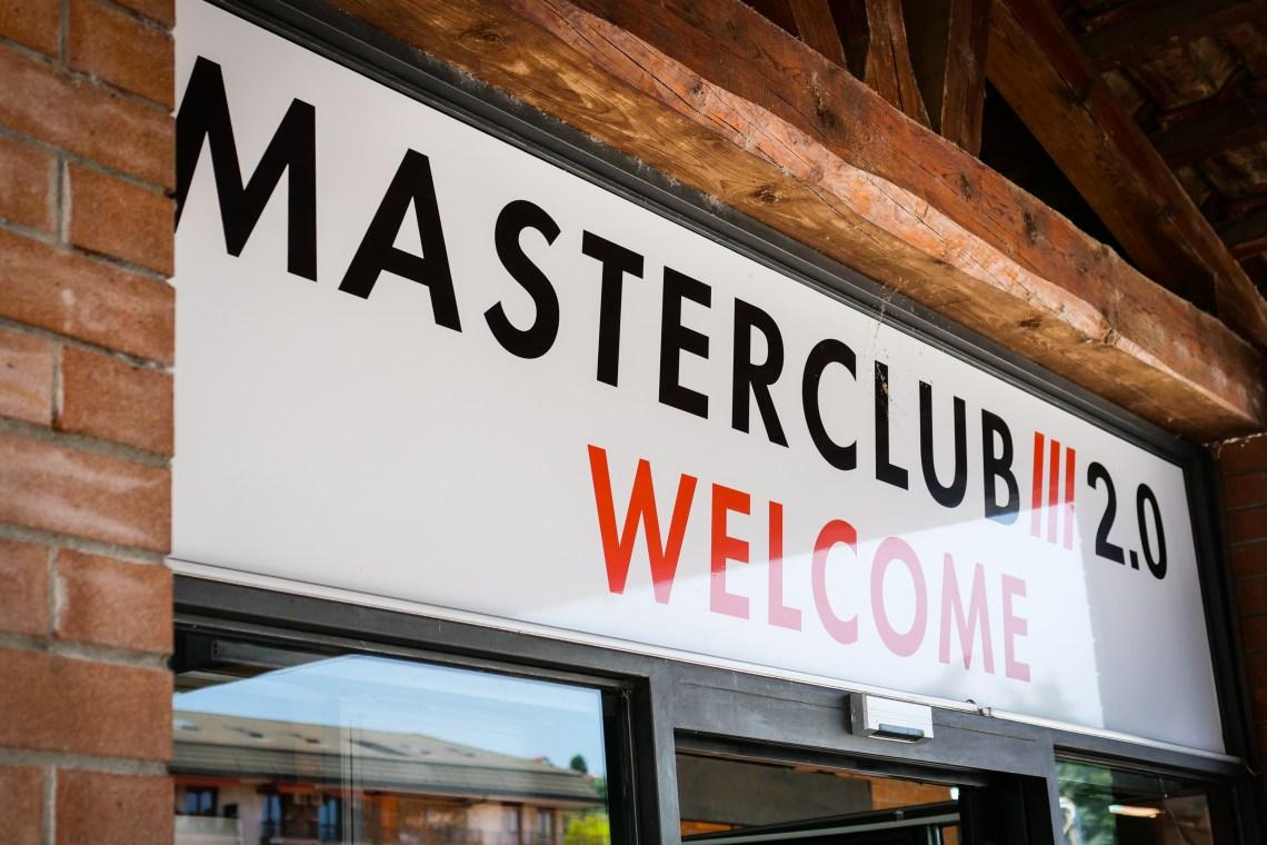 vieni a trovarci al master club 2.0