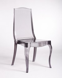 Smoke Acrylic Dining Chair : 6 Stunning Lucite Dining ...