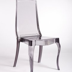 Acrylic Dining Chair Leather Arm Covers Smoke 6 Stunning Lucite
