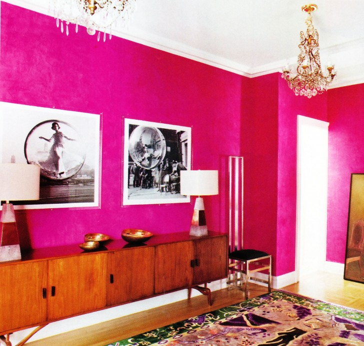 Design Interior Paint  8 Cool Hot Pink Interior Paint