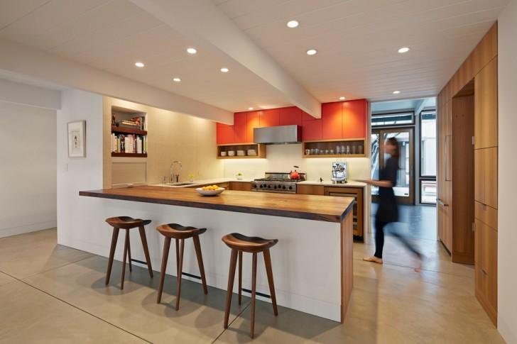 Breathtaking Midcentury Concrete Countertops Portland Oregon Image